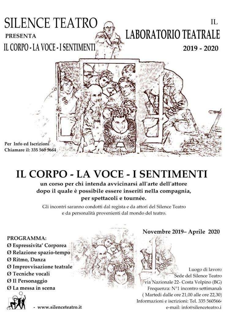Laboratorio teatrale 2019-2020